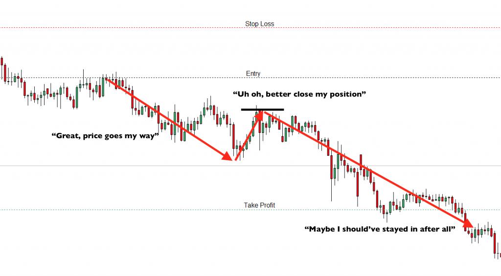 Close order too soon - take profit not hit