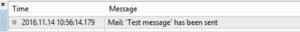 Test email metatrader