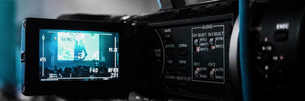 Trading films camera