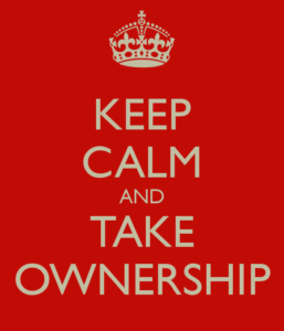Take ownership in trading forex