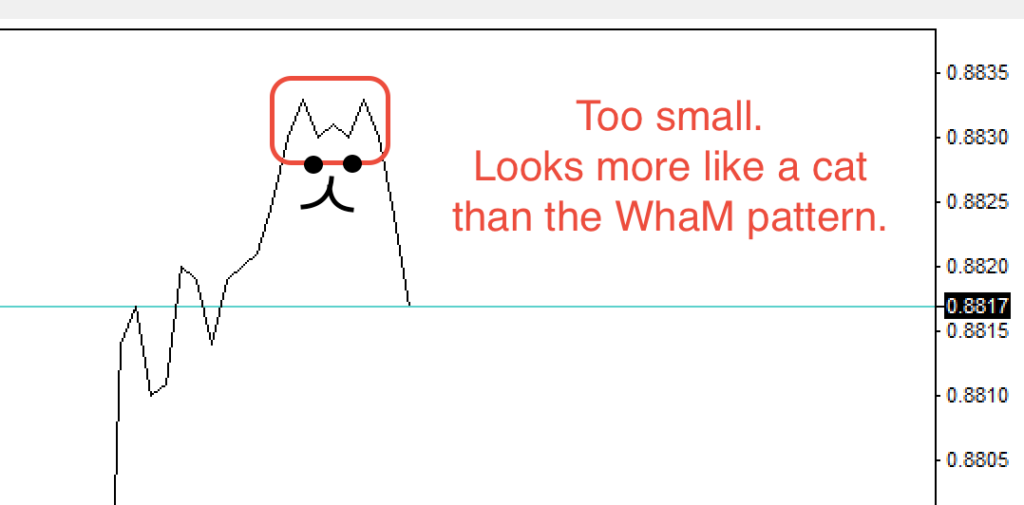 WhaM pattern too small