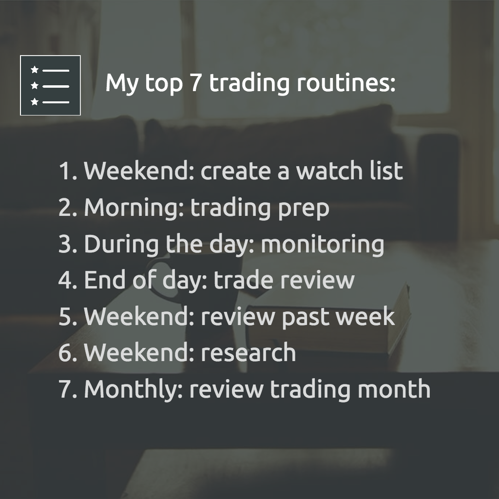 Top trading routines