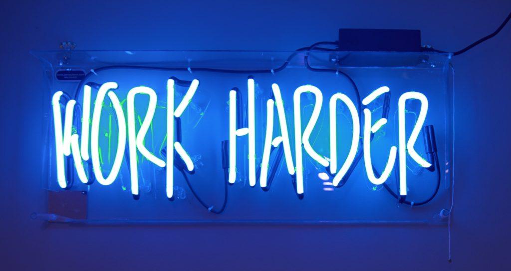 Work hard forex