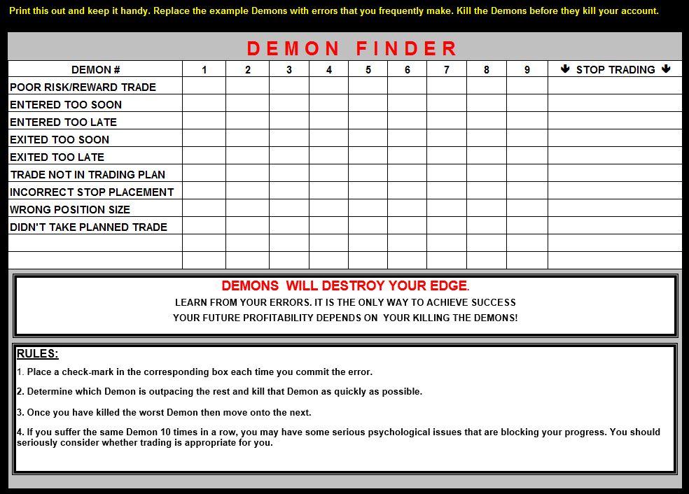 Demon Finder