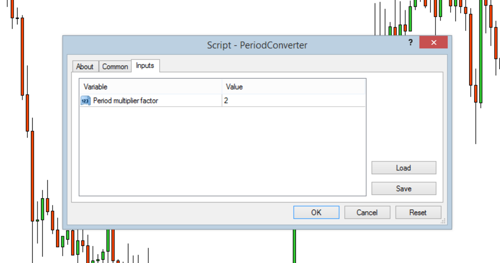 periodconverter window